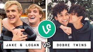 Logan & Jake vs Lucas & Marcus Vine Battle / Who's the Best