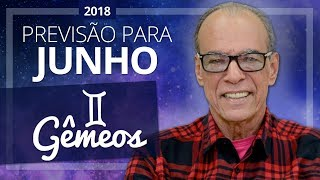 Gêmeos - Horóscopo para Junho de 2018 | João Bidu