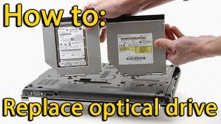 How to Install second Hard Drive in Acer Aspire 5736
