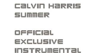 Calvin Harris - Summer (Official Instrumental)