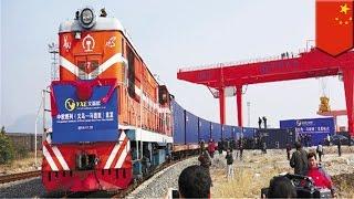 World's longest railway: New Yixinou train connects China's Zhejiang Province to Madrid, Spain