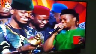 #Headies2015: Olamide and DON JAZZY Moment Everyone Is Talking About