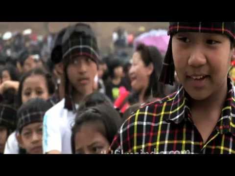 Kids from Divine Intervention school celebrate Chapchar Kut