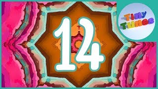 Skip Counting By 14 Song | Counting By 14 to 196 | Tiny Tunes