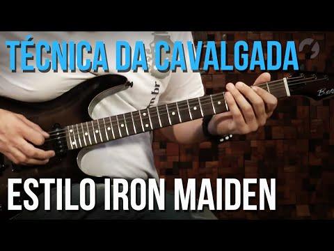 COMO FAZER A TÉCNICA DA CAVALGADA (IRON MAIDEN) | TVCIFRAS