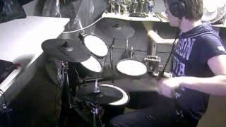 Joey Wojcik: Jennifer Lopez ft. Pitbull - On the floor (drum cover/remix)