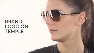 f26b342b5885 Burberry BE3080 Polarized 1145T5 Sunglasses in Gold ...