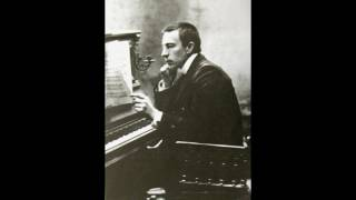 Rachmaninov plays Tchaikovsky - Troika (The Seasons November) [ampico]