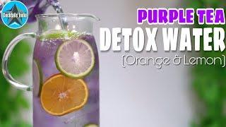 How to make Detox Water in hindi | Purple Detox Water | Dada Bartender | Healthy Drink