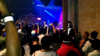 Curren$y Pilot talk 3 tour Dallas,Tx (backstage)