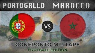 PORTOGALLO vs MAROCCO - Confronto Militare - 2018 (CALCIO)
