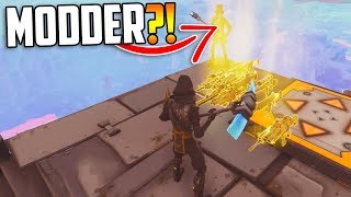 A SCAMMER Said He'd MOD My GUNS! (Exposing Scammers) - Fortnite Save The World
