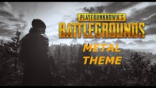 Playerunknown's Battlegrounds Theme - Metal Cover
