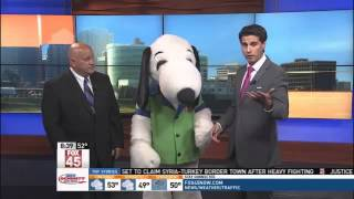 Join Snoopy For Dog Days @ Kings Island