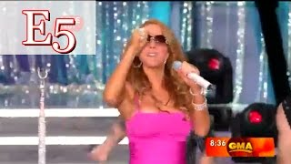 """Mariah Carey - """"Touch My Body"""" Live (Climax) Vocal Showcase"""
