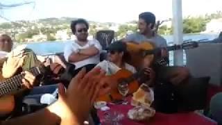 INEDITO Paco de Lucia en Estambul en yate con Flamenco Estambul