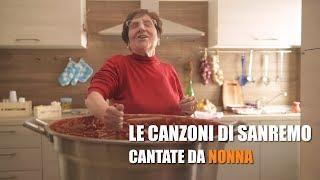 Le CANZONI di SANREMO cantate da NONNA (PARODIA)