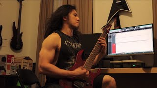 """Fleshgod Apocalypse - """"Blinded by Fear"""" (Cover) - Ibanez Premium RG927 QMF"""
