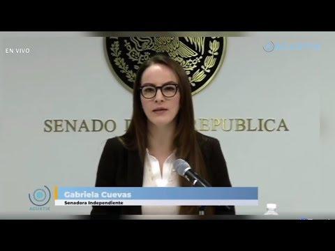 QUIERO VER UN MÉXICO MÁS JUSTO, PLURAL E INCLUYENTE: GABRIELA CUEVAS