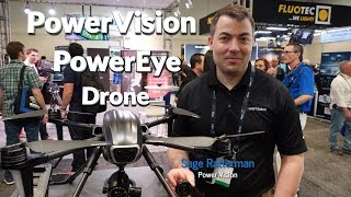 PowerVision PowerEye Drone, NAB 2017