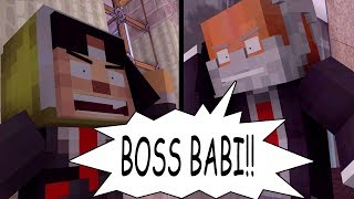 BOSS BABI ! sketsa tawa animasi minecraft