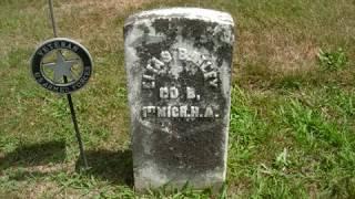Civil War Veterans Cemetery From Sodus, Michigan