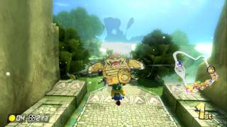 THWOMP RUINS ~ ONLINE RACE ~ OATMEAL AFFILIATE - MARIO KART 8 DELUXE - NO COMMENTARY
