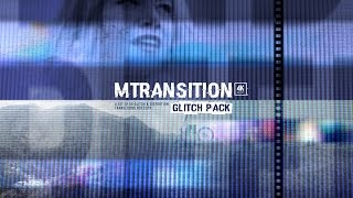 mTransition Glitch Pack - Transition Plugin for FCPX