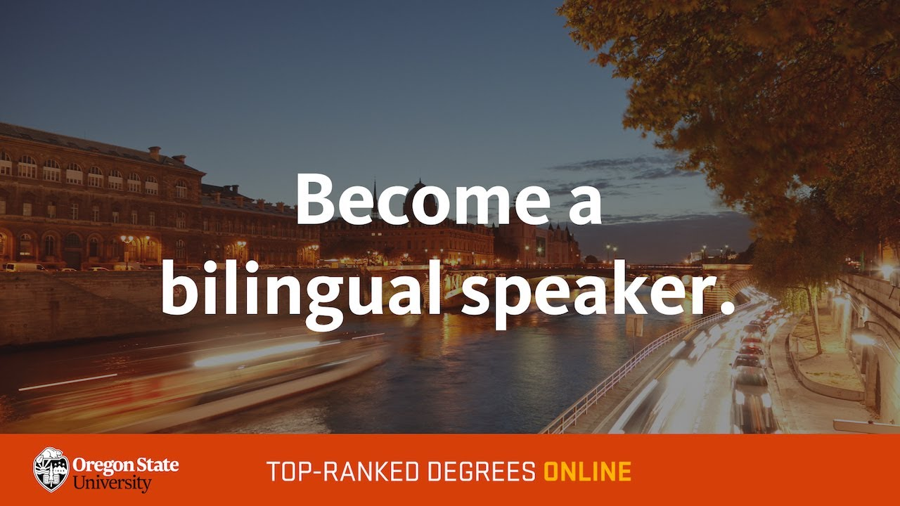 Become a bilingual speaker