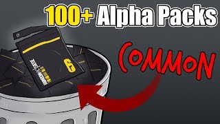 100+ Alpha Packs but they're all trash