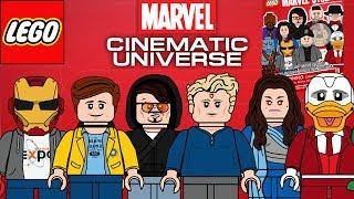 Lego Marvel Cinematic Universe moc minifigure series!!!