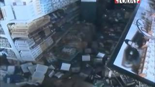 Live Footage Shopping Mall Destroyed   Nepal Earthquake