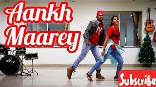 Aankh Maarey Ankh Marey Song Dance Video Simmba | Ranveer Singh, Sara Ali Khan | SAADDANCESTUDIO