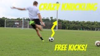 Crazy Knuckle Ball Free Kicks Pt. 2 | ShootAndThrill