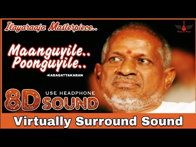 Download thumbnail for Maanguyile Poonguyile   8D Audio Song