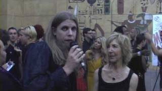 Actress Lin Shaye @ the 2001 Maniacs Field of Screams red carpet