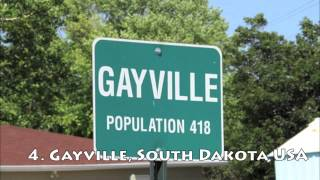 TOP 10 CITY NAMES YOU WILL LOVE