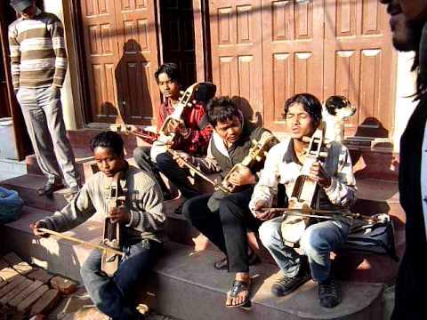 Violinistas de Nepal, Budhanath, Kathmandu