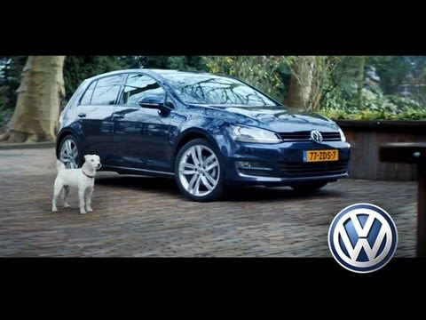 Dog imitates a Golf 7 - Volkswagen 2013 [Pub official VW]