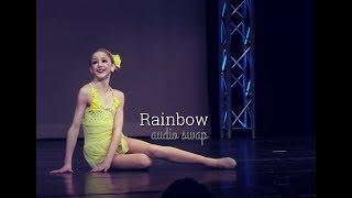 dance moms   Rainbow   audio swap