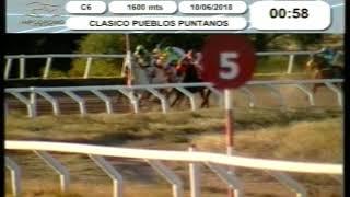 Hipódromo La Punta - (10-06-2018) Carrera 06
