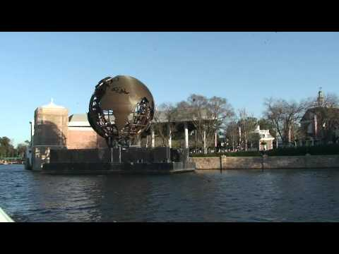 Epcot Friendship Boat from Morocco to Germany 1/30/12 Walt Disney World