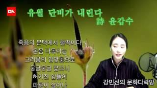 [밑줄긋는여자] 유월 단비가 내린다 - 윤갑수