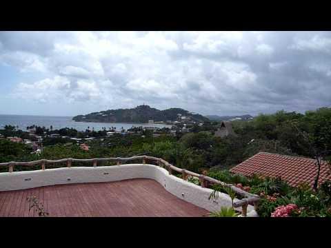 View of San Juan del Sur from Casa Jocote