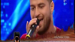 X Factor Răzvan Toma - Down On Me ft  50 Cent Jeremih