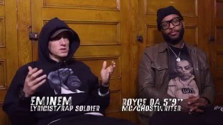 """Eminem on """"Stretch and Bobbito"""" [Freestyle & Interview] 2015 HD"""