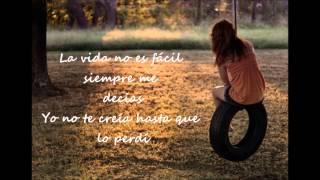 La vida no es fácil con letra  Ximena Sariñana