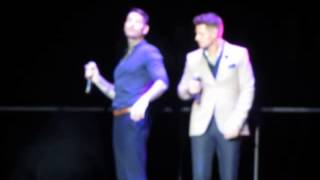 BOYZONE - BABY CAN I HOLD YOU.  Live LG Arena, Birmingham, England. 6th December 2013.