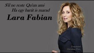Lara Fabian - S'il ne reste Qu'un ami  - Ha egy barát is marad