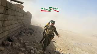 Guerra no Iraque (05/04/2017) - Momento em que carro bomba se lança contra exército iraquiano